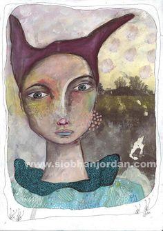fine art print irish art fairy tale art romantic by SiobhanJordan, Irish Art, Fairytale Art, Creative Words, Face Art, St Patricks Day, Painting & Drawing, Fairy Tales, Fine Art Prints, Romantic