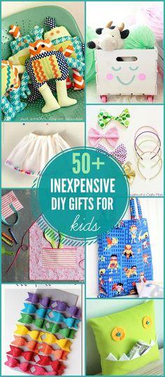 50+ DIY Gift Ideas for Kids on { lilluna.com }