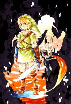 Link art nouveau, #Zelda
