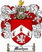 Meehan Family Crest / Ireland Coat of Arms  View our Meehan Coat of Arms Products  Donley Coat of Arms Also Available at: www.4crests.com