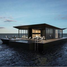 """The Floating Villas, the Maldives #thegoodlifeinc"""