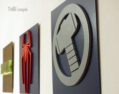 Superhéroe Ironman arte de la pared arte de pared de