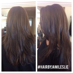 Long layers. Gorgeous hair. #hairbyjamileslie #longhair #longlayers Hair by Jami Leslie Tiger Tail Salon- Carlsbad CA