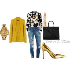 Untitled #1504, created by stylebydnicole on Polyvore