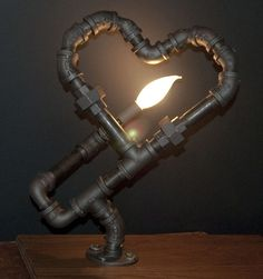 Copious: Cupid's Arrow Artistic Heart Flame Lighting Design For Lovers