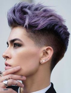 Apple cut hairstyle short hair easy hairstyles for short hair 2018 2019 &am Apple Cut Hairstyle, Buzz Cut Hairstyles, Undercut Hairstyles, Short Hairstyles For Women, Easy Hairstyles, Layered Hairstyles, Hairstyle Short, Hairstyles 2018, Hairstyle Ideas