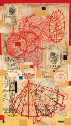 Stephen Talasnik, Surveyor, collage, 2009
