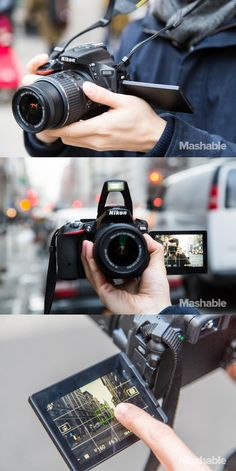 The Nikon D5500.