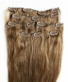 Full Head 20 100% REMY Human Hair Extensions 7Pcs Clip in 10 Light Brown ** This is an Amazon Affiliate link. Be sure to check out this awesome product.