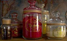 Kitchen Pantry Apothecary Jar set