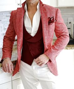 mens suits Summer -- CLICK VISIT link above for more options Mens Fashion Suits, Mens Suits, Suits You Sir, Cool Outfits, Fashion Outfits, Sports Jacket, Well Dressed Men, Tweed Jacket, Gentleman Style