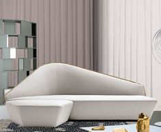 Contemporary sofa / leather / removable / indoor VERLAINE DRIADE
