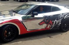 Alexandr Dolgopolov's Dog GT-R - The Worst Celebrity Rides of 2013 | Complex UK