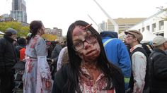 Montreal - Marche des zombies - Zombie Walk 2015 - 1 of 3