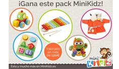 Sorteo: Gana un pack regalo de MiniKidz!