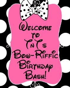 Minnie's Bow-tique Birthday Party | Just Wait til You have Kids