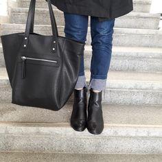Mango bag and zara shoes