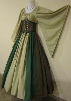 woodland elf dress