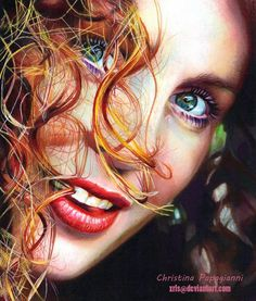 Tease? - 35 Mind Blowing Colored Drawings  <3 <3