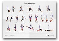 30 minute yoga trapeze flow hips  hamstrings  yoga