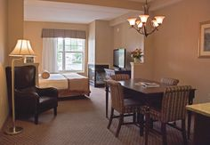 Fire Place Suite - Grand Hotel - Perfect for Winter in the Adirondacks. Skiing Packages are available January - March Fort William, Grand Hotel, Conference, Skiing, January, Dining Table, Fire, Winter, Furniture