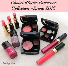 CHANEL Rêverie Parisienne Spring 2015 Makeup Collection (review + photos)