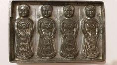 Ancient Egyptian Boy Letang Fils Flat Chocolate Mold Antique Vintage   eBay