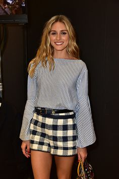 Olivia Palermo attends the Rebecca Minkoff Front Row and Backstage September 2016 New York Fashion Week The Shows event at Magnum New York on...