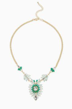ShopSosie Style : Laresca Necklace in Mint