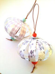 Jul på budget #1 Papirbolde – diy! - Hvadbiertaenker