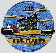 USS Flasher SS 249.