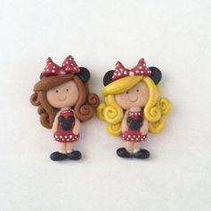 Custom Mouse Girl  Polymer Clay Bead.