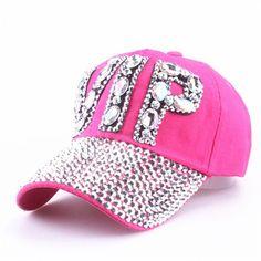 f60b3485b3a CAP Wholesale 2016 Hat Rhinestone Print Denim hat Rivet Sun-Shading VIP  Baseball Summer Women s