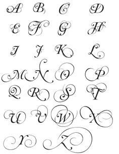 Script Alphabet Beautiful Fonts Graphic Art Tattoo Ideas Life Hacks Banners Calligraphy Tatoo Lettering