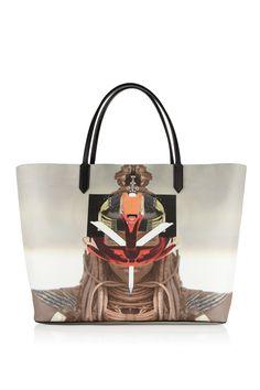 Givenchy Antigona shopping bag in printed coated canvas NET-A-PORTER.COM