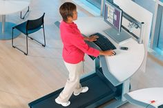 Top 6 Exercise and Standing Desks to Get You in Shape While You Work