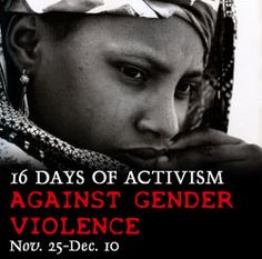 16 Days of Activism Against Gender Violence, usaid.gov