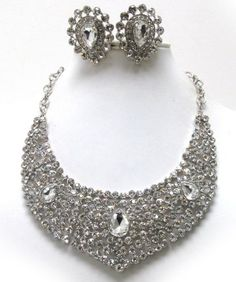 Luxury class Austrian Crystal sud bib style necklace and clipon earring set Arras Creations,http://www.amazon.com/dp/B00CGFL1GY/ref=cm_sw_r_pi_dp_szqWsb1X2XEV5KN9