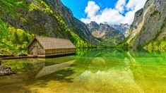General 1920x1080 agua clara lago reflexión montañas obersee lago naturaleza verde agua azul