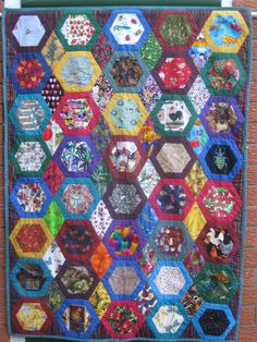 I Spy Quilt No 2 by HandMadeQuiltsbyJane on Etsy, Cot quilt, single bed topper, quilt for children