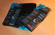 Self promotional package by Caroline Blanchet, via Behance
