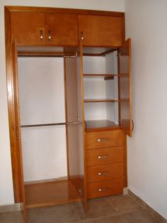 Home Design Layout Closet Ideas Bedroom Closet Design, Bedroom Wardrobe, Wardrobe Closet, Built In Wardrobe, Closet Designs, Bedroom Decor, Almirah Designs, Wooden Closet, Diy Rangement
