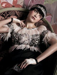 by Steven Meisel. US Vogue 2007