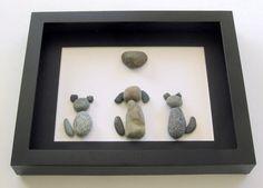 Animal Pebble Art