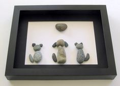 Personalized Animal Lover Gifts - Animal Themed Art - Pebble Art on Etsy, $70.00 CAD
