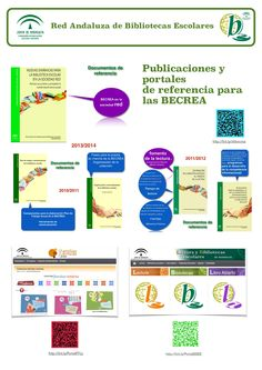 Panel 3: Publicaciones y portales de referencia. Toda la información en un mismo sitio web