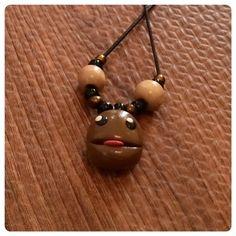 Little Big Planet Sackboy Inspired Necklace  Variant by NekoWorks