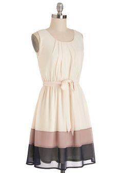 Band in Line Dress | Mod Retro Vintage Dresses | ModCloth.com