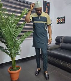 Latest African Wear For Men, Latest African Men Fashion, African Male Suits, African Shirts For Men, Nigerian Men Fashion, African Dresses For Kids, African Clothing For Men, African Attire, Dashiki For Men