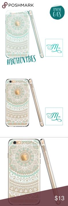Totem • Boho Chic Exotic Vibes Phone Case 6/6S Totem series case lead the fashion trend and embrace different culture,  while maintaining the beauty of the phone by showing off the beautiful  and exotic design on the back of the phone.  - Special polycarbonate hard back cover with TPU peripheral bumper deign  - The soft TPU peripheral bumper is under anti-aging treatment so that the  case does not yellow as well as protecting from UV rays.  - Front raised edges recess your phone  *Case only…